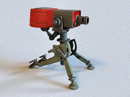 TF2 Sentry Gun 3d model