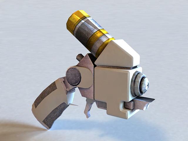 Explosive Gel Gun 3d model