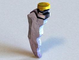 Batman Gel Detonator 3d model