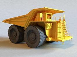 Big Dump Truck 3d model