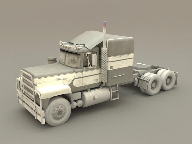 Longnose Truck 3d model