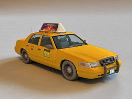 Ford Crown Victoria Taxi 3d model