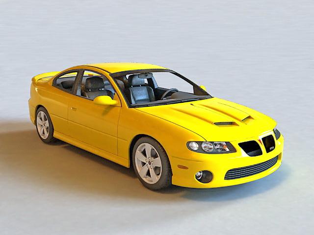 2005 Pontiac GTO Coupe 3d model