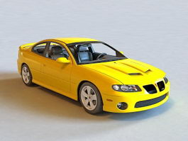 2005 Pontiac GTO Coupe 3d model