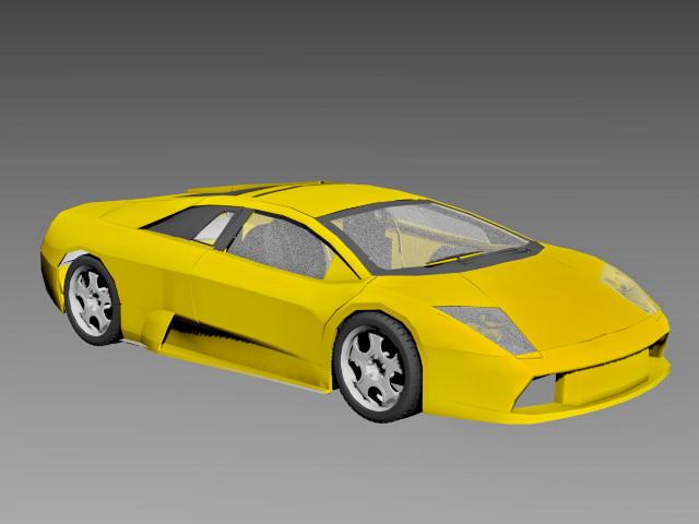Lamborghini Murcielago Coupe 3d model