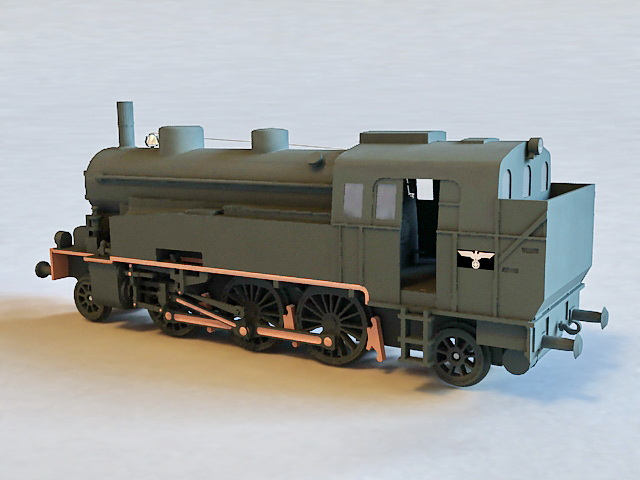 VLC 75 Locomotive 3d model
