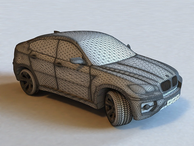 Bmw X6 Suv 3d Model 3ds Max Files Free Download Modeling 36844 On