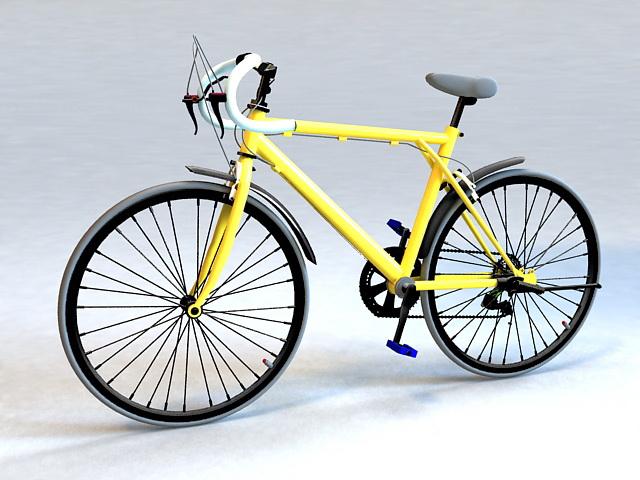 Randonneuring Bike 3d model