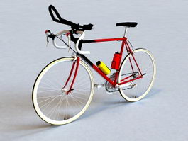 Road Racing Bicycle 3d model