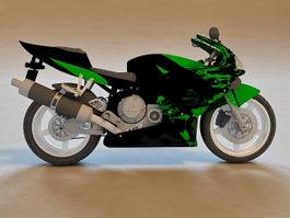 Honda CBR Sport Bike 3d model