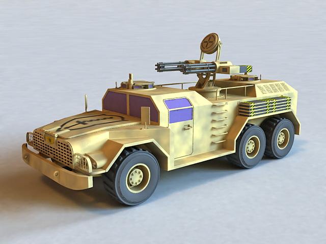 Combat Tactical Vehicle 3d model