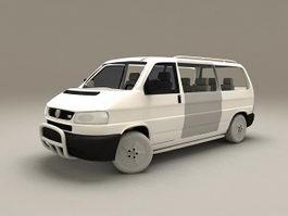 VW Transporter 3d model
