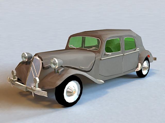 Citroen History Model 3d model