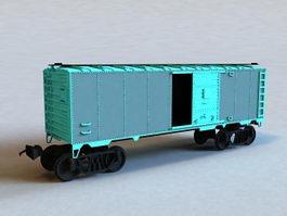 Cargo Train Car 3d model