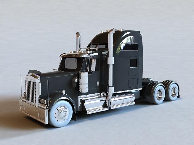 Long-nose Truck 3d model