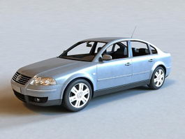 Volkswagen Passat Car 3d model
