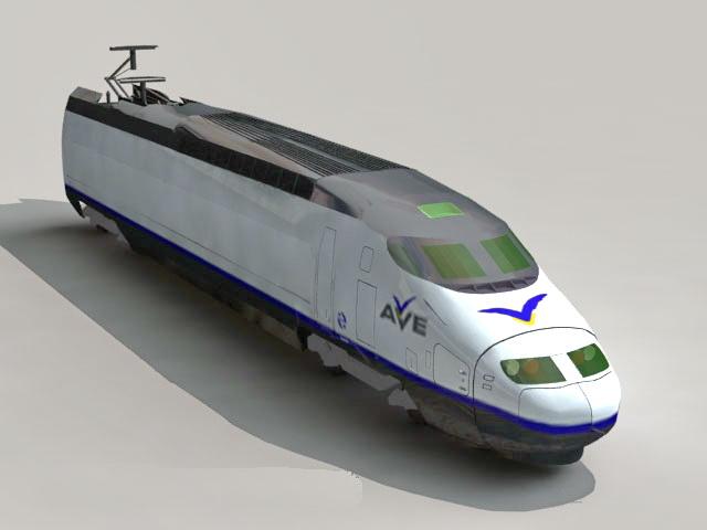 AVE Train 3d model