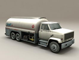 Airport Aviation Fuel Truck 3d model
