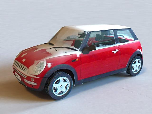 Snow Car 3d model