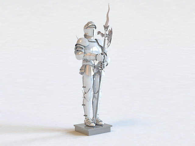 Armour Knight 3d model