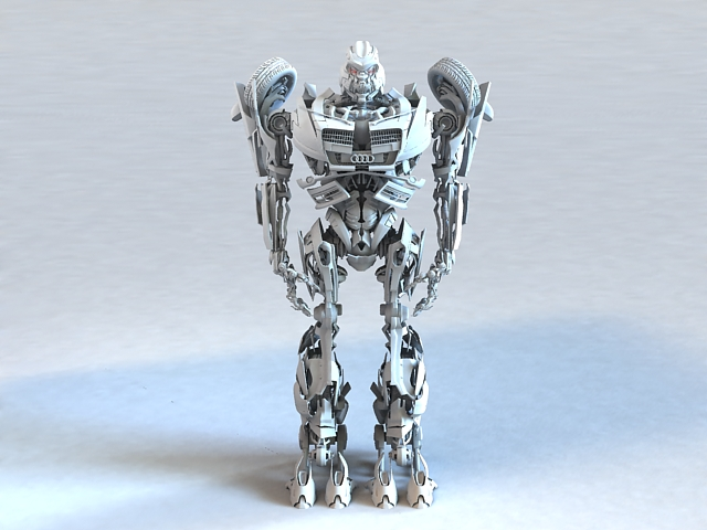 Transformers Rigged 3d model