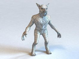 Monster Werewolf 3d model