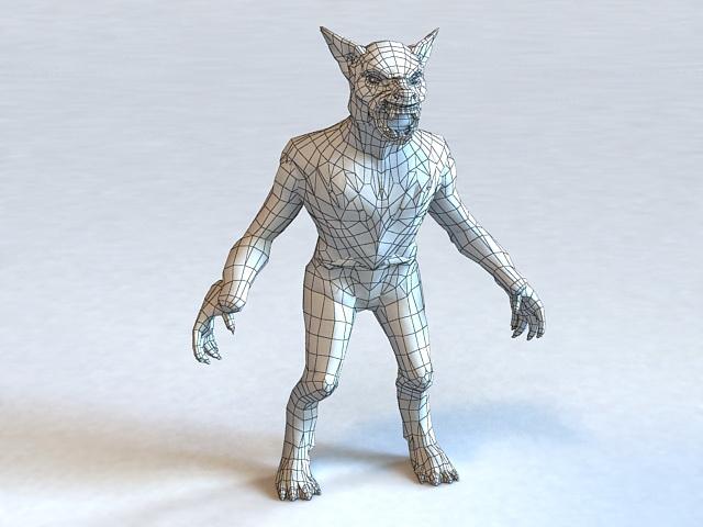 Monster Werewolf 3d model
