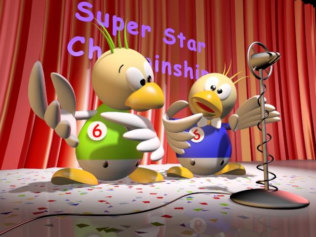 Duck Stars 3d model