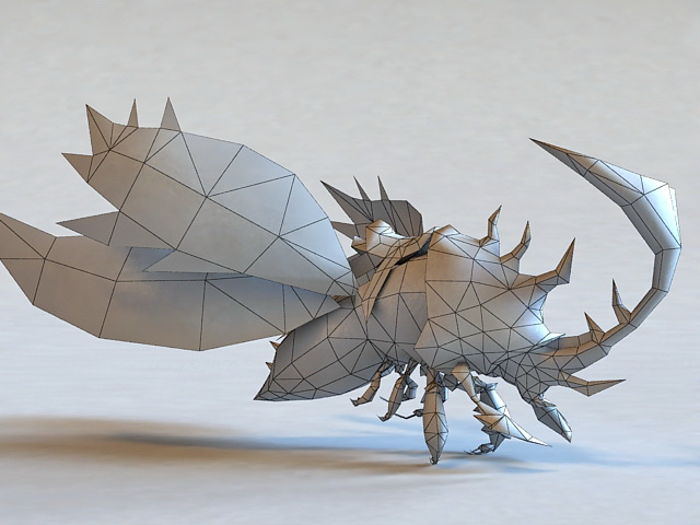Giant Beetle Mounts 3d Model 3ds Max Files Free Download