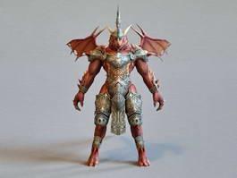 Dragonkin Warrior 3d model