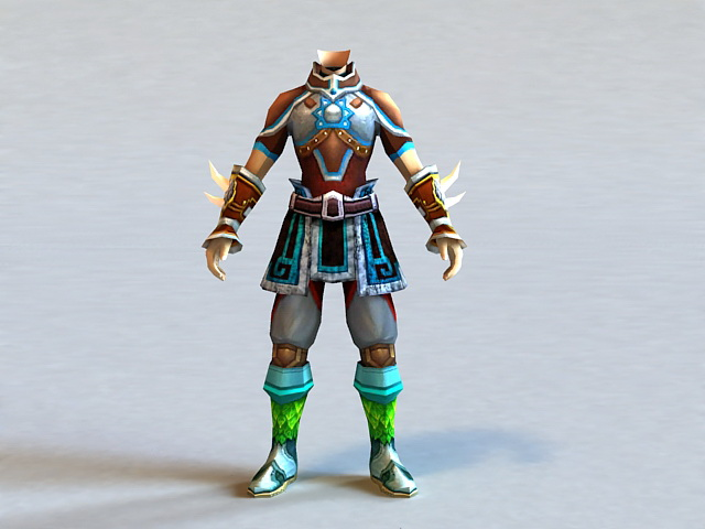 Ancient Chinese Armor 3d model