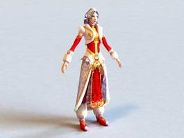 Ancient Chinese Princess 3d model