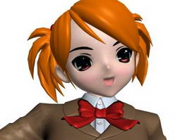 Anime Characters 3d Model Free Download Page 16