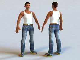 Will Smith American Actor 3d model