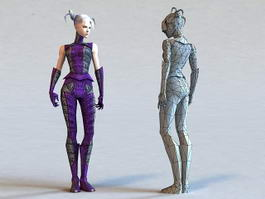 3D Characters Human Figures People Models Free Download page