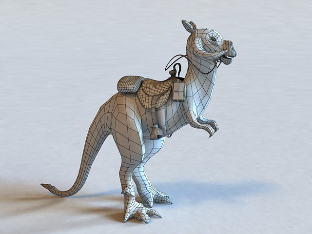 Star Wars Tauntaun Animal 3d Model 3ds Max Object Files