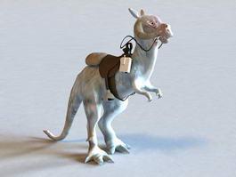 Star Wars Tauntaun Animal 3d model