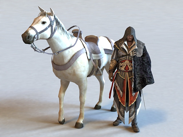 Assassins Creed 3d model