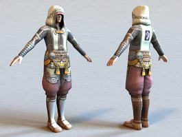 The Last Remnant Character 3d model