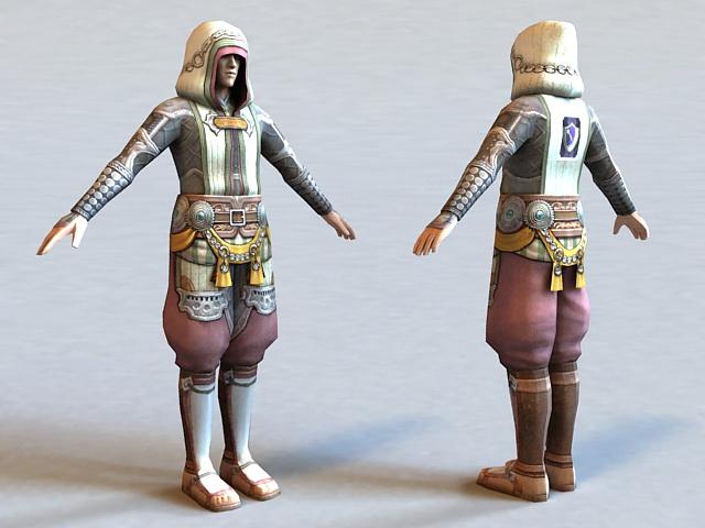 The Last Remnant Character 3d model