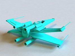X-Wing Starfighter 3d model