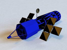 Artificial Satellite 3d model