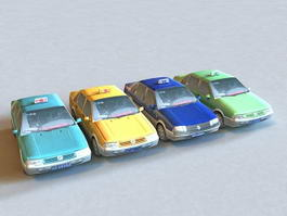 FAW-Volkswagen Taxi 3d model
