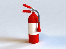 Fire Extinguisher 3d model
