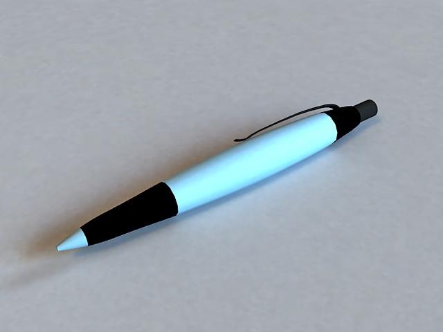 Rollerball Pen 3d model