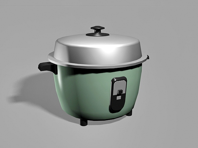 Electric Rice Cooker 3d model