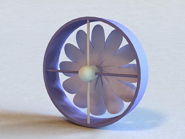 Industrial Exhaust Fan 3d model