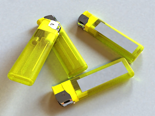 Disposable Lighter 3d model