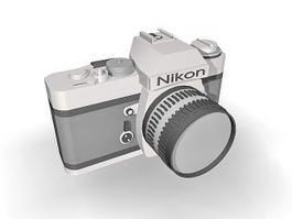 Nikon DSLR Camera 3d model