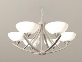 New Classic Chandelier 3d model